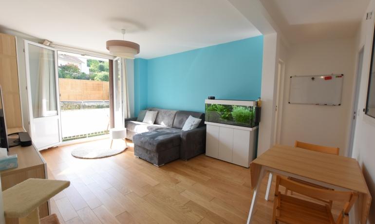 Appartement 3 pièces 68 m² + Balcon + Box