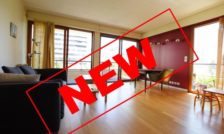 Paris 19 – Bassin de la Villette – Appartement 3 pièces 68 m² + balcon avec VUE SUR JARDIN