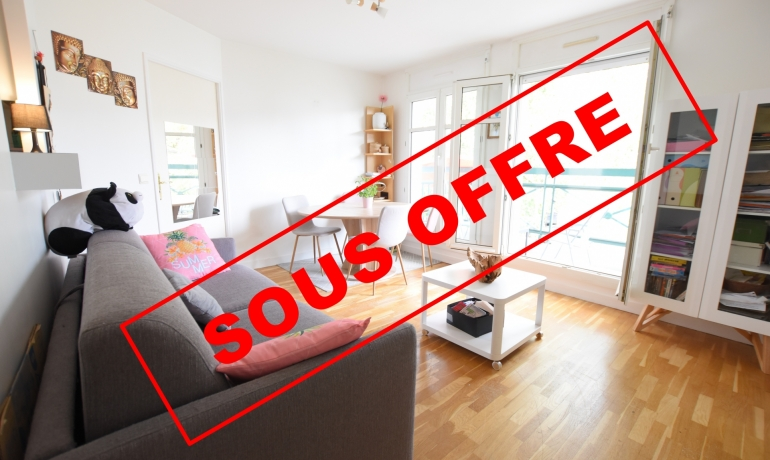 Appartement 2 pièces 41 m² + Balcon – VALLEE AUX LOUPS