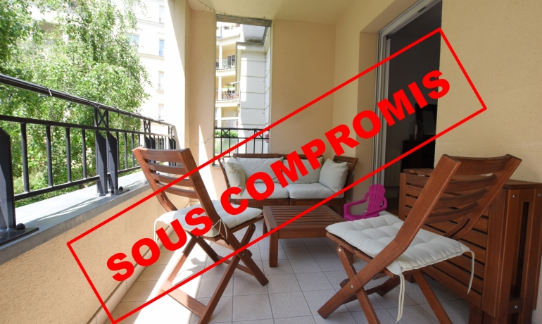 Appartement 3 pièces + TERRASSE / LOGGIA – Cœur de Ville
