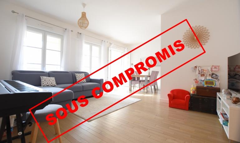 Appartement 3 pièces 66 m² + Terrasse / LOGGIA – CITE JARDINS / COEUR DE VILLE